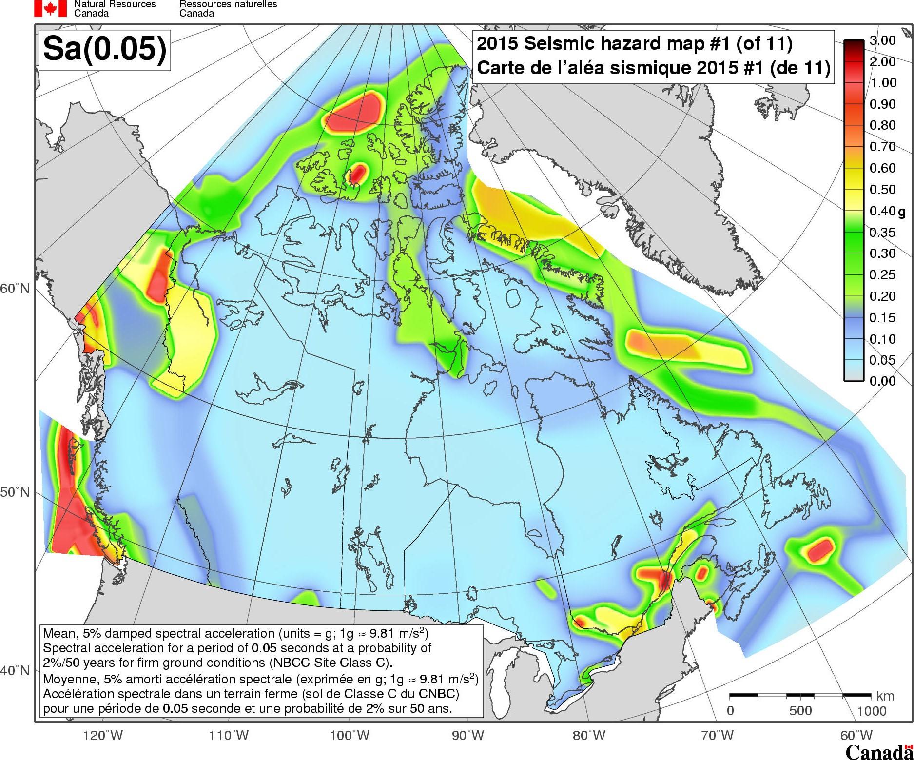 National Building Code Canada Seismic Design