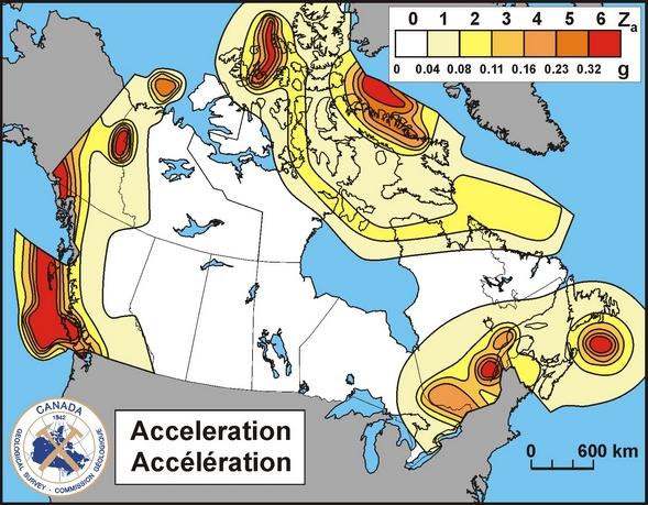 Natural Resources Canada Hazard Calculator